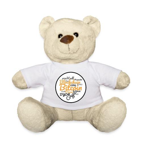 Bitcoin Tag Cloud - Teddy Bear