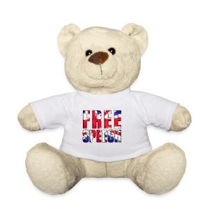 Free Speech UK - Teddy Bear