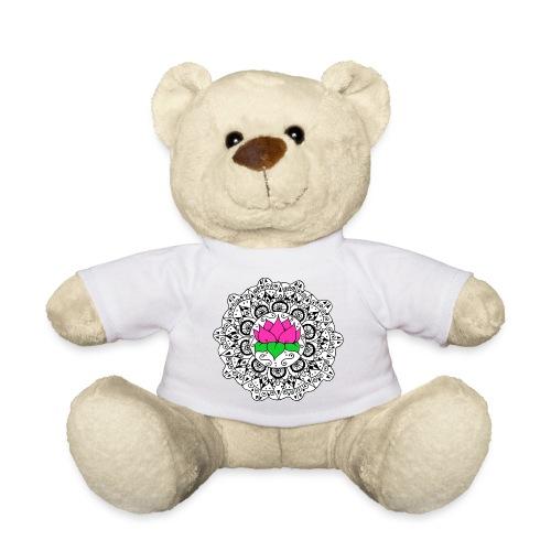 Lotus Flower Mandala - Teddy Bear