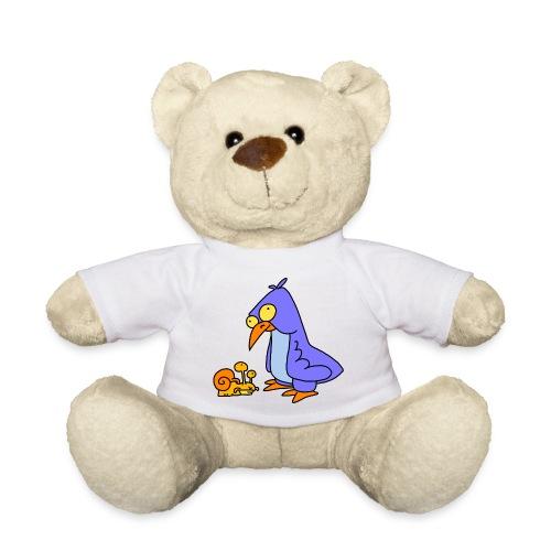 Schnecke und Vogel Nr 2 von dodocomics - Teddy