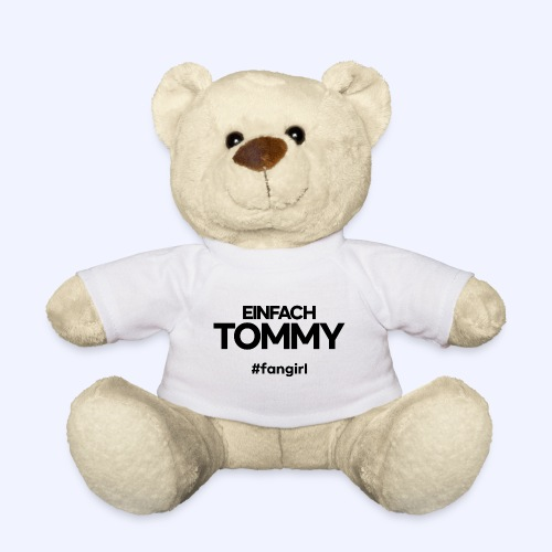 Einfach Tommy / #fangirl / Black Font - Teddy