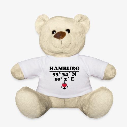 HAMBURG Koordinaten Anker 2c A / Längengrad - Teddy
