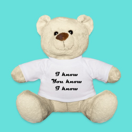 I know You know I know - Nounours