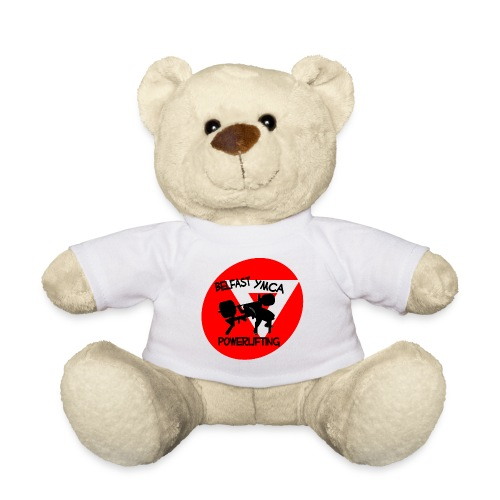 Belfast YMCA Powerlifting Logo - Teddy Bear