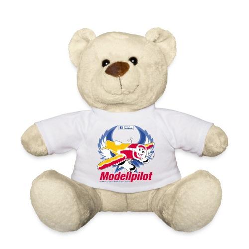 Modellpilot Logo blau - Teddy