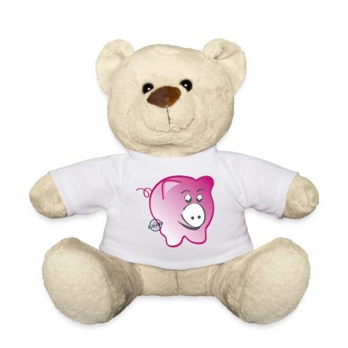 Pig - Symbols of Happiness - Teddy Bear