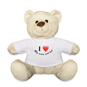 I love my mum and dad T-shirt - Teddy Bear