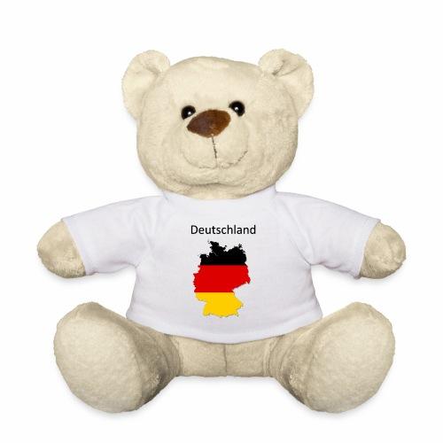 Deutschland Karte - Teddy
