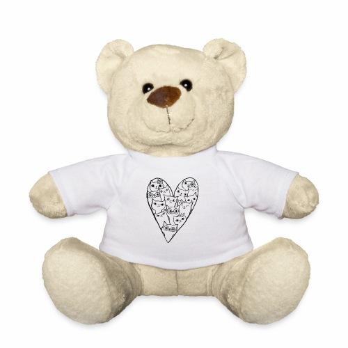 I Love Cats - Teddy Bear