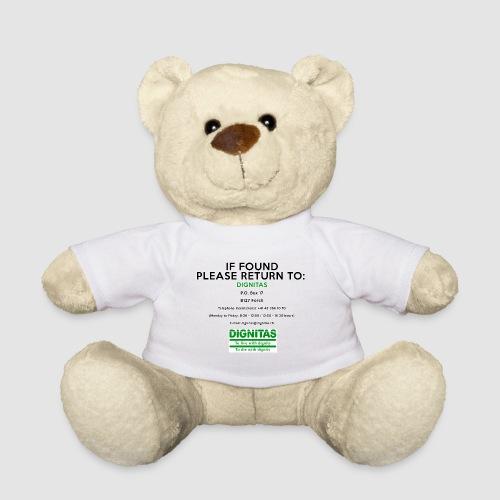 Dignitas - If found please return joke design - Teddy Bear