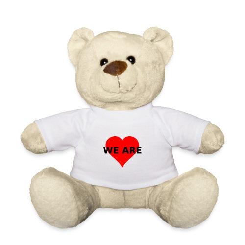 WE ARE Herz Heart LOVE - Teddy