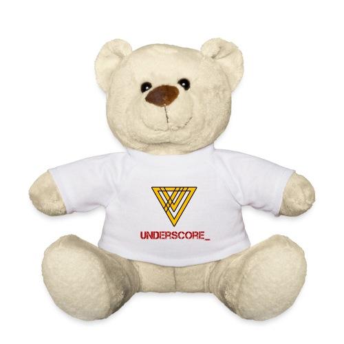 Underscore Yellow Red - Teddy Bear