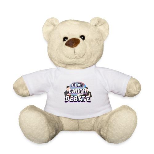 Flat Earth Debate Solid - Teddy Bear