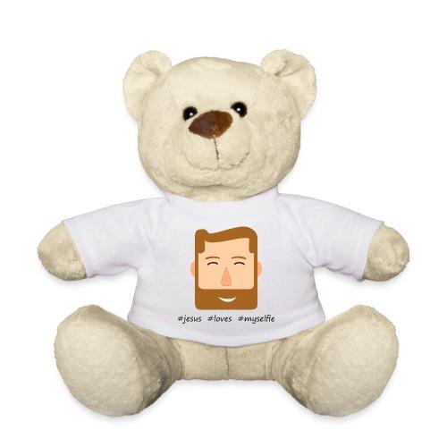 jesus loves myselfie - Teddy