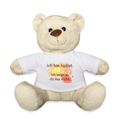Ich bin Autist, zeige es aber nicht - Teddy