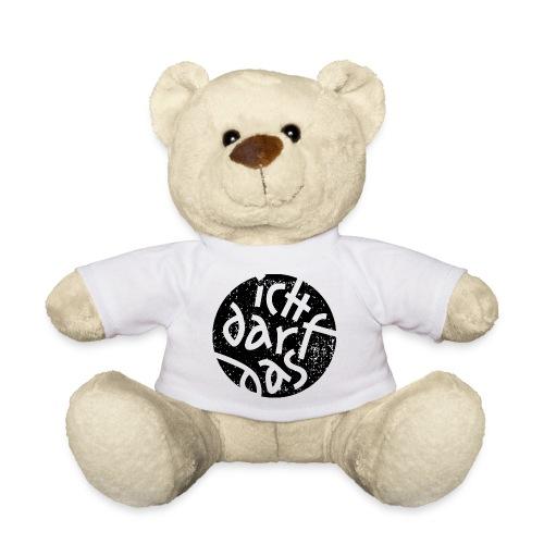 Statement Ich Darf Das Grunge Button 1 - Teddy