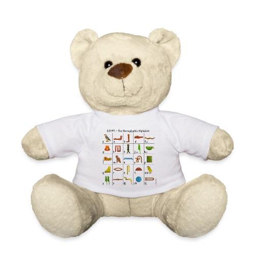 Ägyptisches Alphabet - Teddy