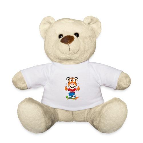 Lustiger Tiger - Skateboard - Sport - Kids - Baby - Teddy