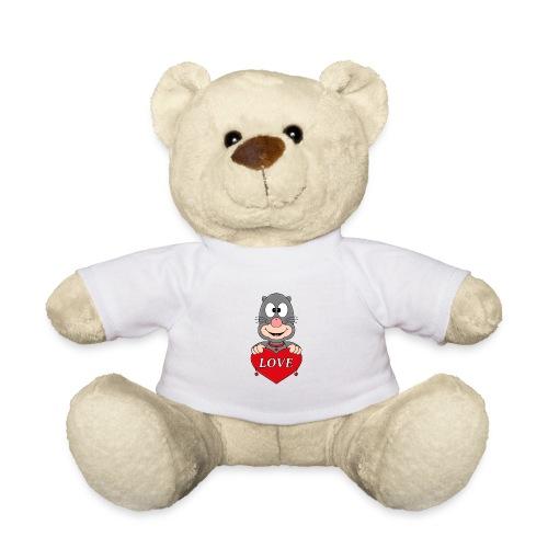 Lustiger Maulwurf - Herz - Liebe - Love - Fun - Teddy