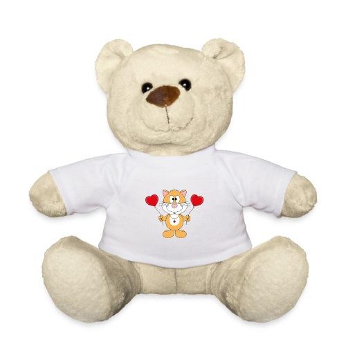 Lustiger Hamster - Herzen - Luftballons - Liebe - Teddy