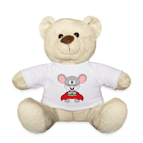 MAUS - SUPERHELD - TIER - KIND - BABY - FUN - Teddy