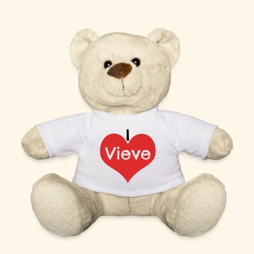 Eenmalig persoonlijke I love... (naam) - Teddy