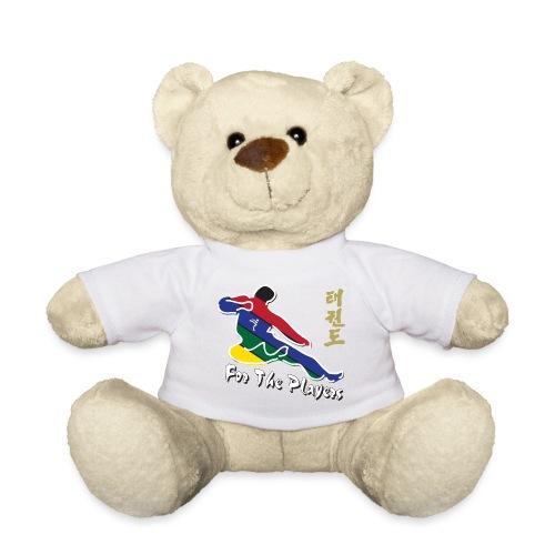 Taekwondo Flying Kicking-man For the Players - Teddy Bear