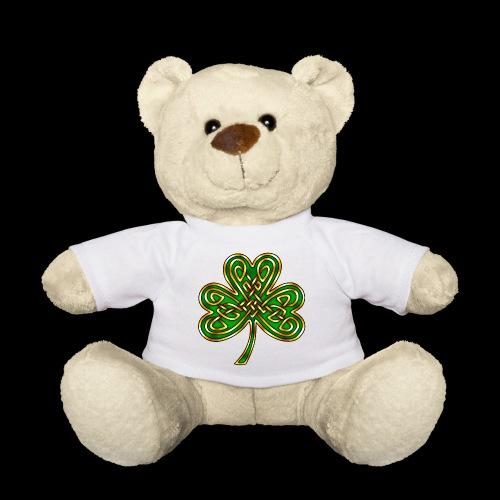Celtic Knotwork Shamrock - Teddy Bear