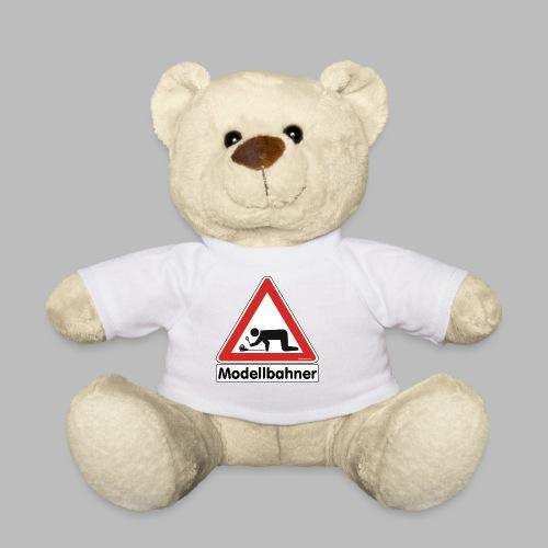Warnschild Modellbahner E Lok - Teddy