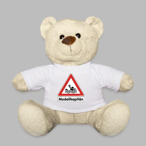 Warnschild Modellkapitän - Teddy
