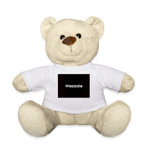 Wazzole plain blk back - Teddy Bear