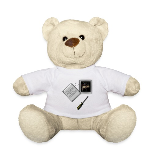 Battery Heart Economy T Shirt - Teddy Bear