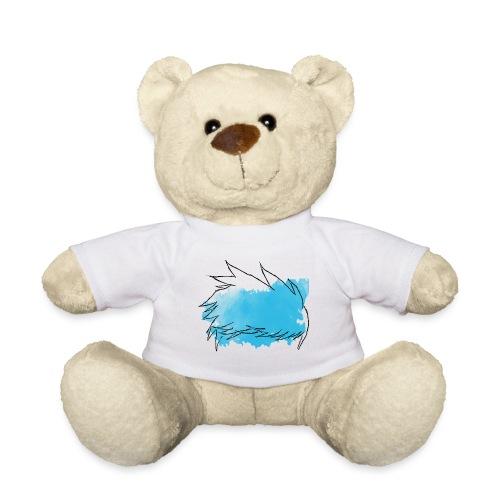 Blue Splat Original - Teddy Bear