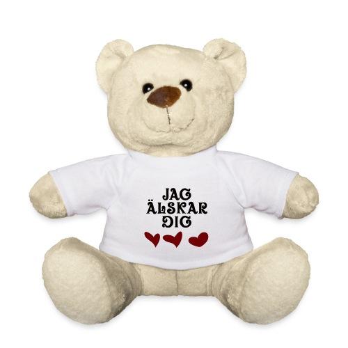 Jag älskar dig - Nallebjörn