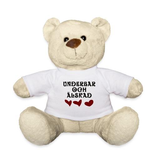 Underbar och älskad - Nallebjörn