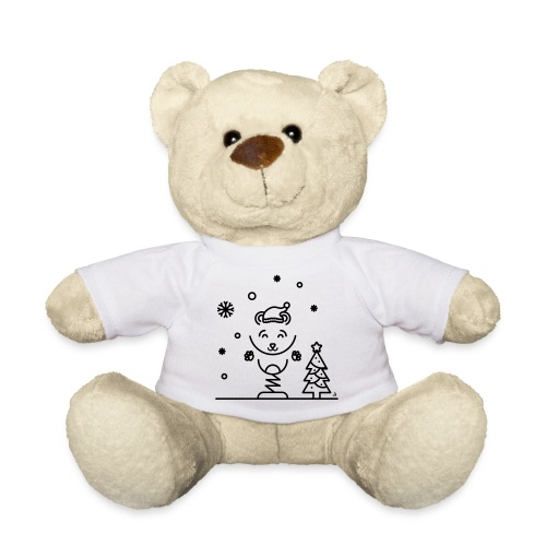 Noël bear 1 - Nounours