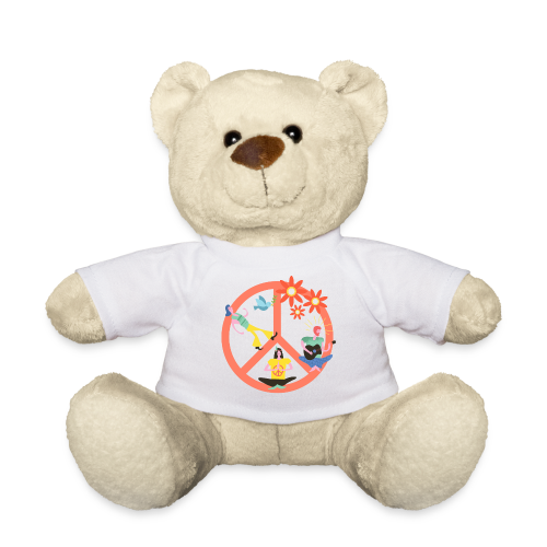 Hippie Peace - Teddy Bear