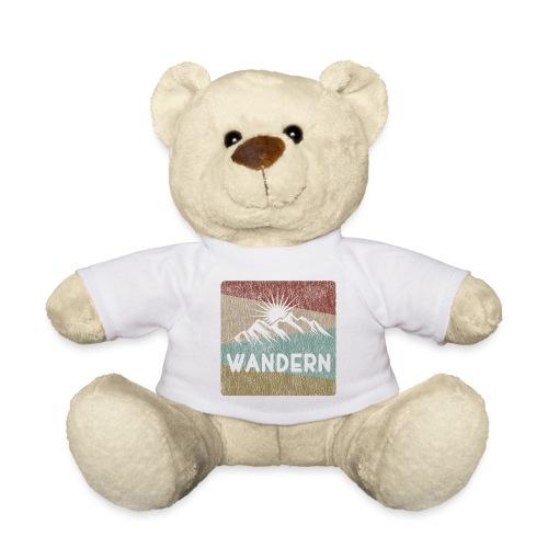 Wandern Geschenk Bergfex Alpenfex Cool Outdoor - Teddy
