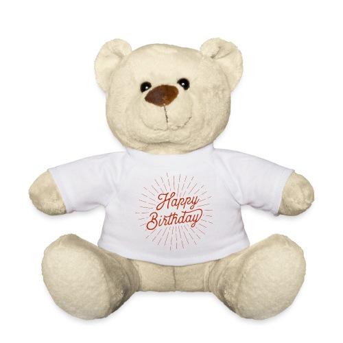 happy birthday - Teddy