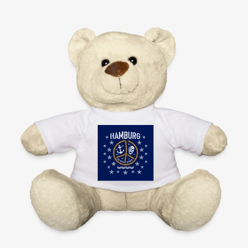 07 Hamburg Totenkopf Koordinaten Peace Anker Maske - Teddy