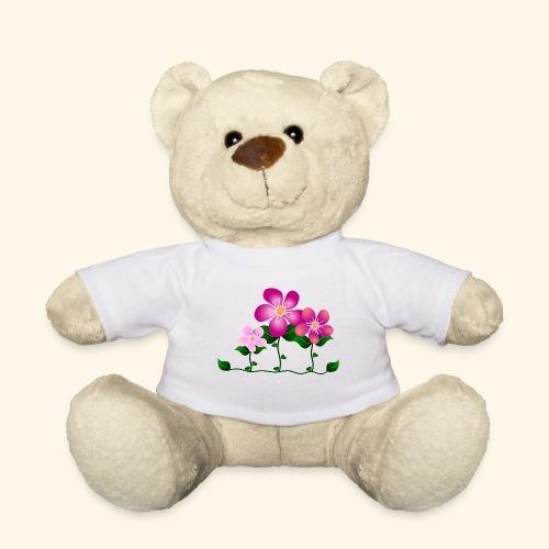 Blumen, pink, Blüten, floral, Blumenwiese, blumig - Teddy