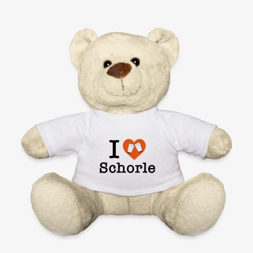 I love Schorle – Dubbeglas - Teddy