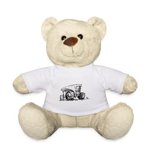 Futuristic design tractor - Teddy Bear