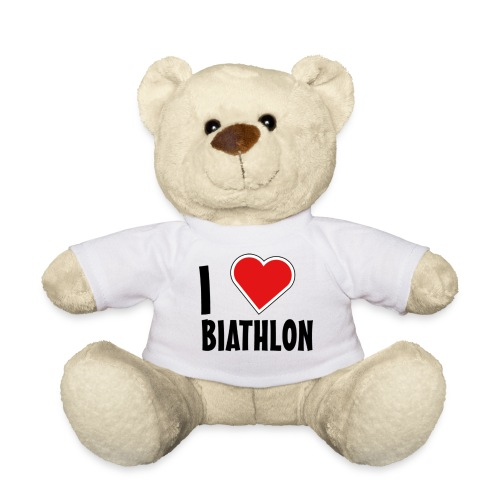 I HEart Biathlon png - Teddy