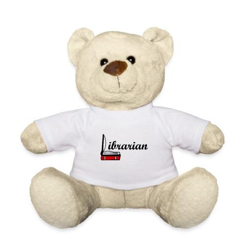 0324 Librarian Librarian Library Book - Teddy Bear
