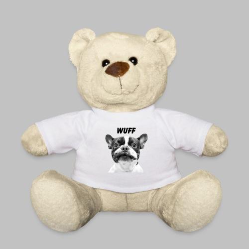 Wuff - Hundeblick - Hundemotiv Hundekopf - Teddy