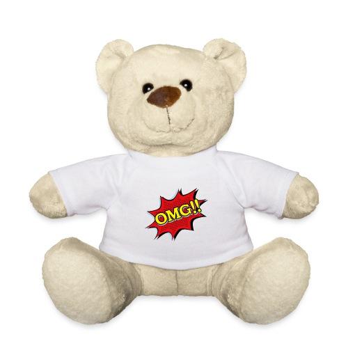 omg, lol, wow, oh, boom, fathered, I think OMG! - Teddy Bear