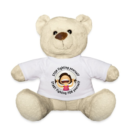 Amy's motto (black txt) - Teddy Bear