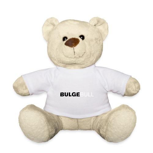 bulgebull logo blanco - Osito de peluche