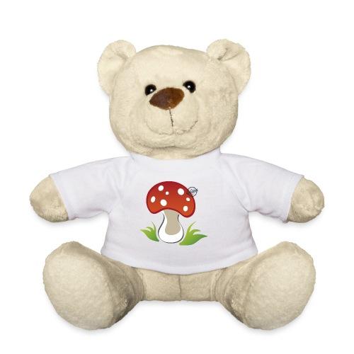 Mushroom - Symbols of Happiness - Teddy Bear